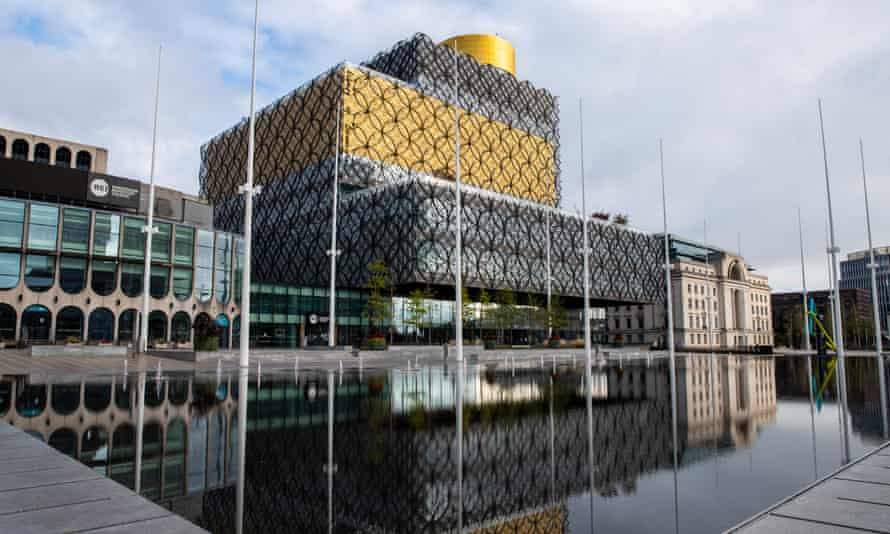The Library of Birmingham in Centenary Square.