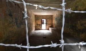 A gas chamber at the Stutthof concentration camp.