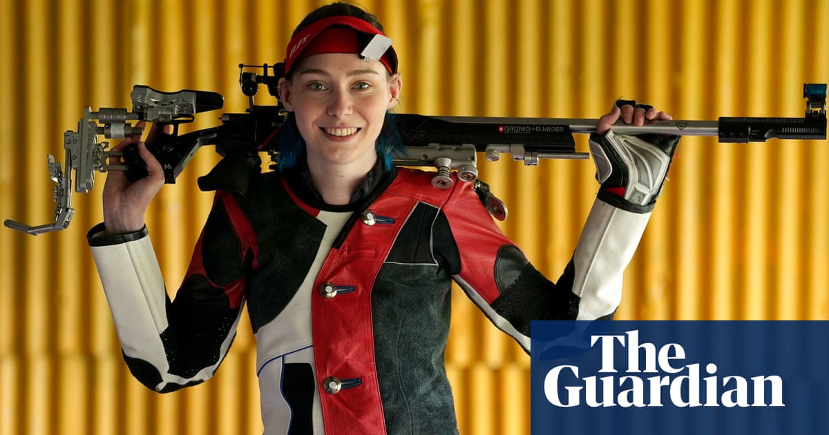 Seonaid McIntosh: the British shooter with first gold of Games in her sights