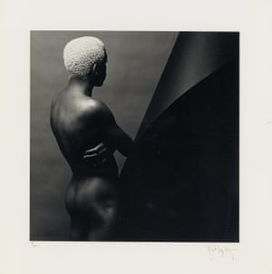 Leigh Lee by Robert Mapplethorpe. Silver print, signed, 1980