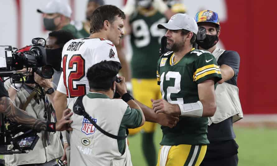 Tom Brady and Aaron Rodgers met earlier this season and the Buccaneers emerged as victors