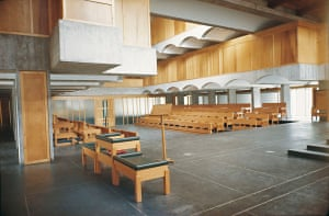 Images of the building when completed in 1966 by Architects Gillespie, Kidd and Coia