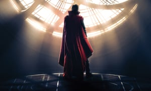 Heading to astral planes of freakiness ... Benedict Cumberbatch as Marvel's Doctor Strange.