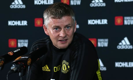 Manchester United job is not too big for me, says Solskjær