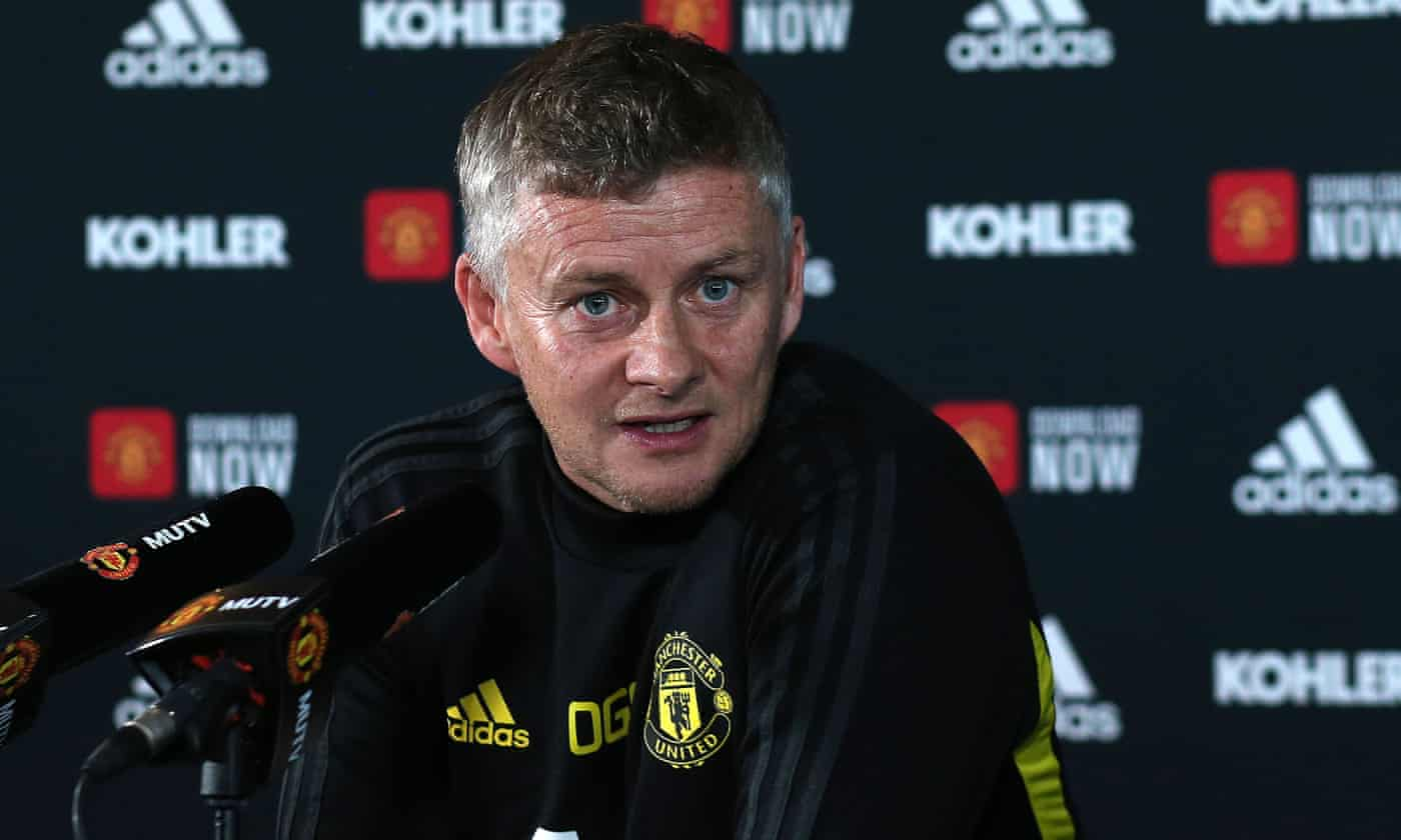Manchester United job is not too big for me, says Ole Gunnar Solskjær