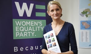 Sophie Walker resigns as leader of the Women's Equality Party.