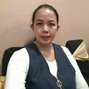 Former prisoner, Rosma Karlina, 43, from West Java