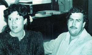 Victoria Henao and her husband Pablo Escobar in 1983 when Escobar was a member of the Colombian congress.