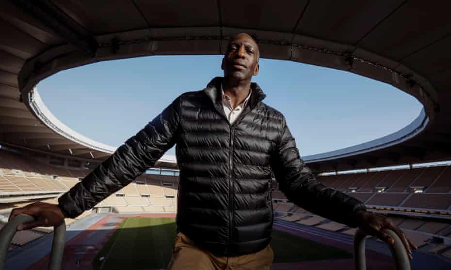 Michael Johnson has become more active on social media and believes it is easier for athletes to communicate now than during his sprint career.