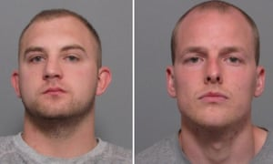 Aaron Newman, left, and Aaron Power have been jailed for life.