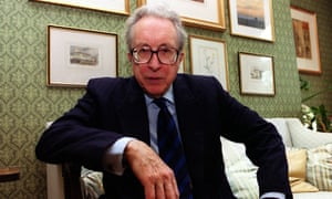 Lord Borrie QC pictured at his residential chambers in London Monday 25 September 2000 after he was announced as the next Chairman of the Advertising Standards Authority