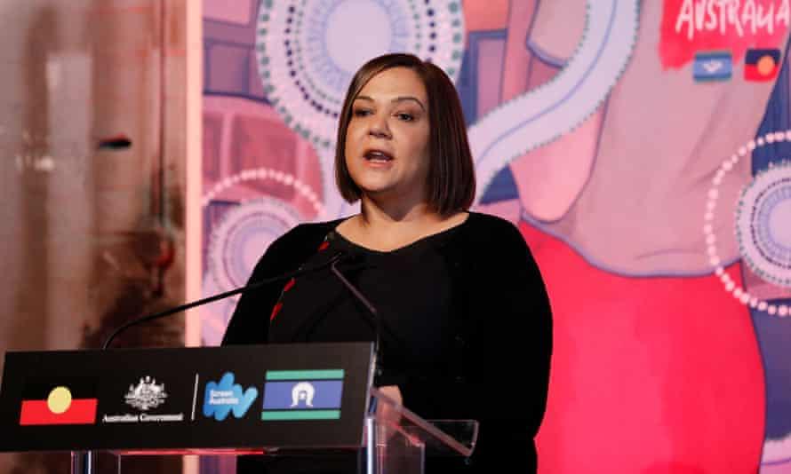 Penny Smallacombe speaks to the media