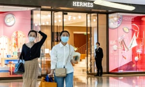 The Hermès store in China that took £2.1m in one day after reopening.
