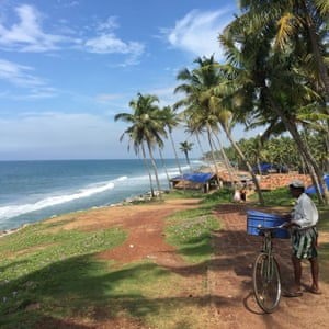 Going with the flow, Varkala