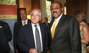 Robert De Niro Barbuda