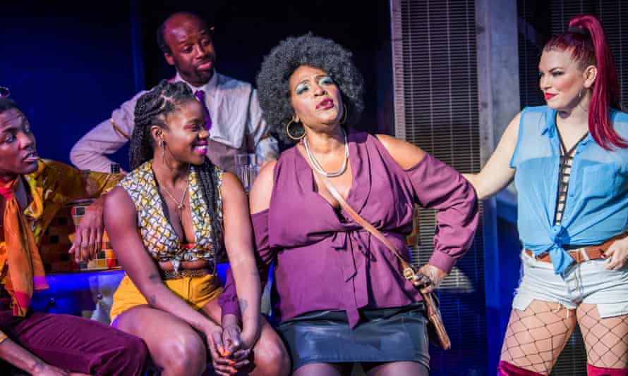 Putting a gloss on it … Sharon D Clarke (Sonja) in The Life.