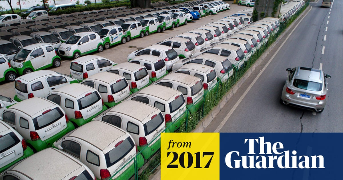 d07dd41255 Electric cars accelerate past 2m mark globally | Business | The Guardian