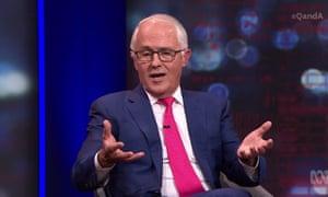 Malcolm Turnbull on Q&A, 9 November 2020.