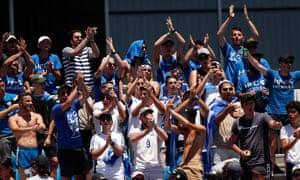 Like Nowhere Else Stefanos Tsitsipas Revels In Greek Communitys