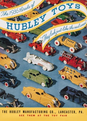 The Hubley Manufacturing Company, 1936 toy cars advert from the book Toys: 100 Years of All-American Toy Ads (£30) by Jim Heimann and Steven Heller is published by Taschen.