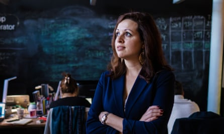 Zara Nanu, founder of Gapsquare, a software designed to help companies close the gender pay gap.