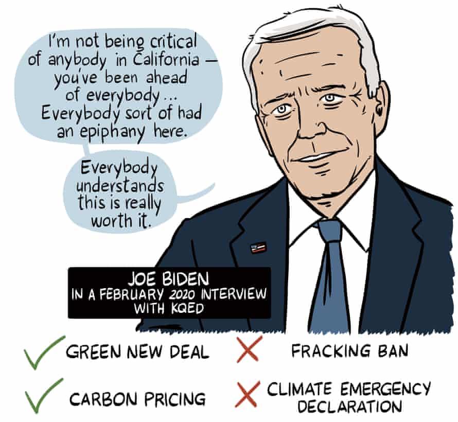 Joe Biden on California and climate