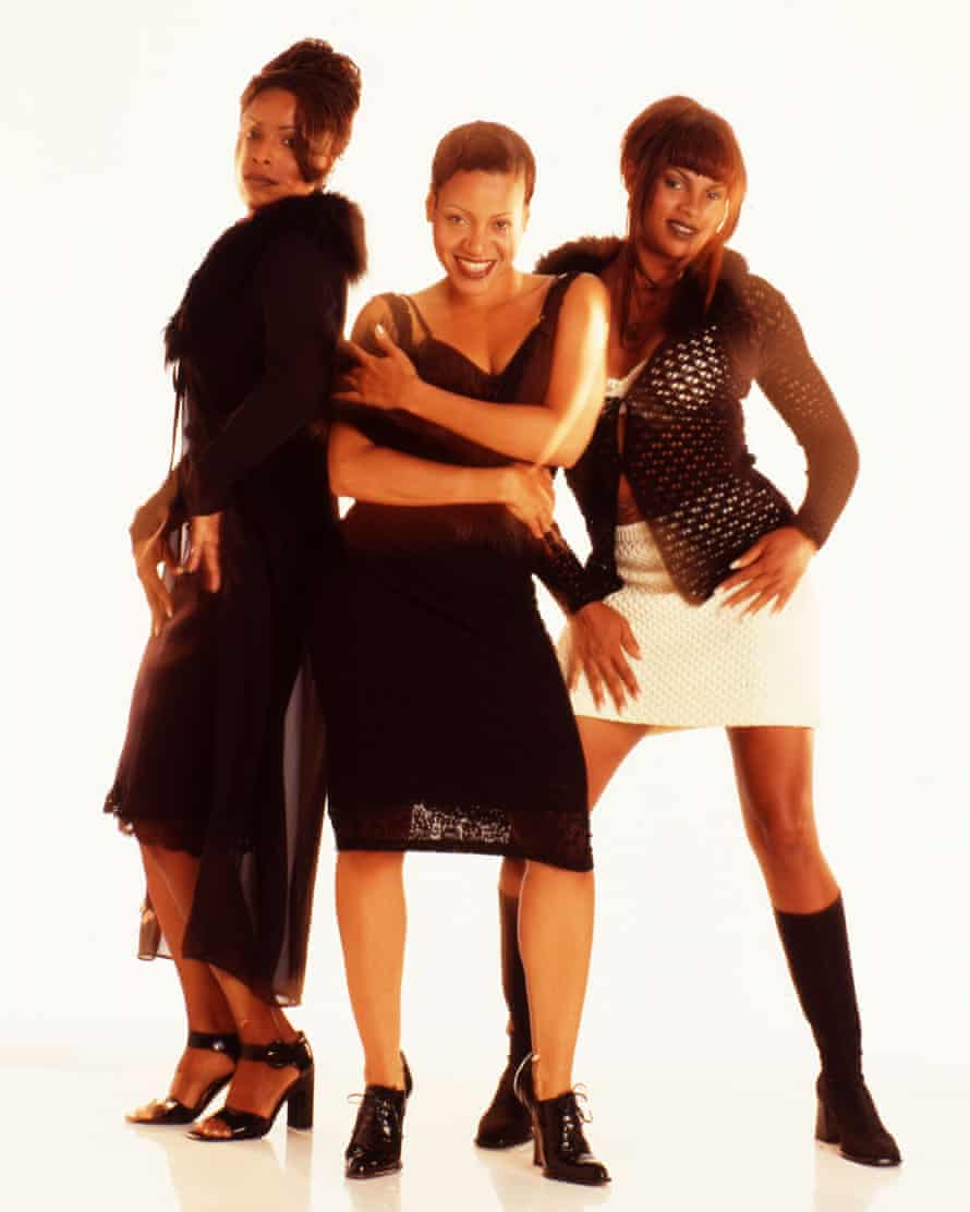 Salt-N-Pepa in 1997. 'These ladies had a sense of style, but my task was to introduce them to couture.'