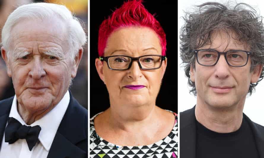 'What will you choose to lose' … John le Carré, Dr Sue Black, Neil Gaiman.
