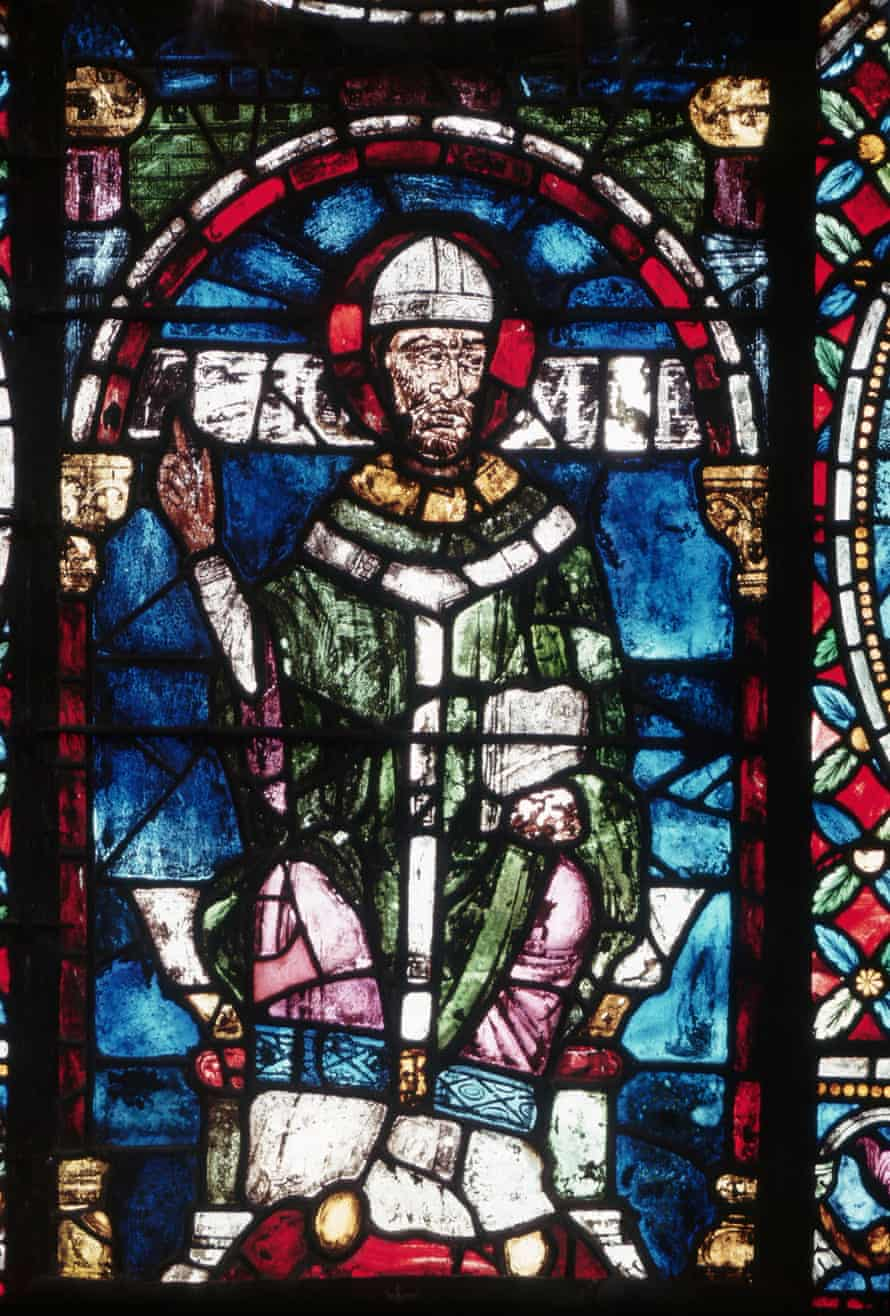 stained glass Canterbury Cathedral Thomas Becket