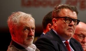 Jeremy Corbyn and Tom Watson