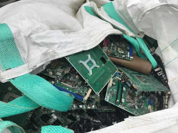 Once collected by the National Television and Computer Recycling Scheme, items broken down into constituent parts - circuit boards, plastic and glass - were until recently sent offshore.