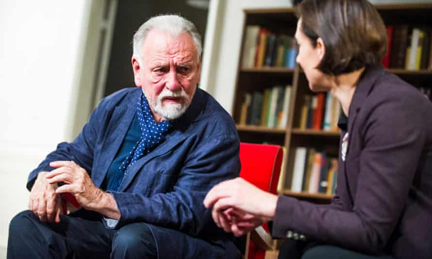 Kenneth Cranham and Rebecca Charles in The Father at Wyndham's theatre, London.