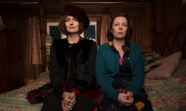 Flowers: Olivia Colman and Julian Barratt come together to