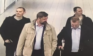 Four men flew from Moscow to Amsterdam on 10 April this year, Dutch officials said.