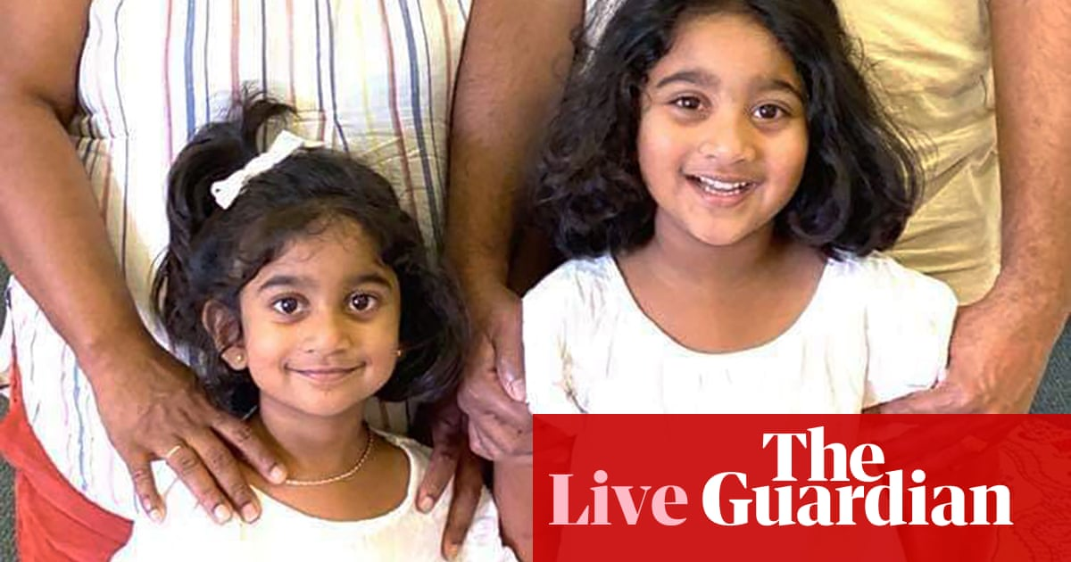 Australia politics live: Biloela family to be reunited in Perth, Morrison and Johnson discuss trade deal
