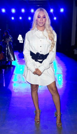 Munroe Bergdorf at London fashion week: 'I am a little more dressy than usual.'