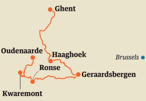 Flanders map