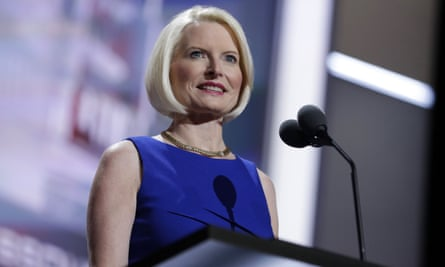 Callista Gingrich could help to mend a relationship that became strained when the pope questioned Trump's Christian faith during the 2016 campaign.
