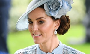 The Duchess of Cambridge at Royal Ascot in June 2019.