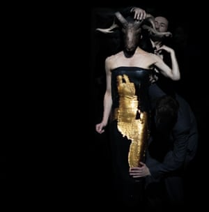 A dress with the Midas touch … Julie Anne Stanzak in Since She.
