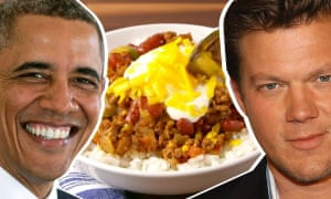 Celebrity Snackdown – Barack Obama v Tyler Florence.