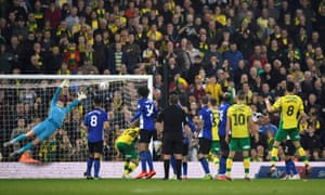 Mario Vrancic scores a brilliant last-gasp equaliser to put Norwich four points clear at the top.