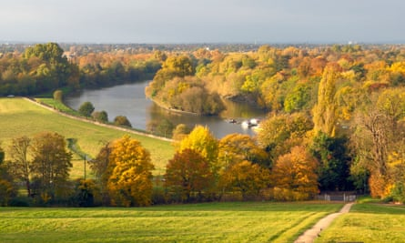 View from Richmond Hill in Autumn