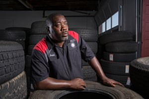 Errick Feaster is now a foreman at a tire store after completing the re-entry program.