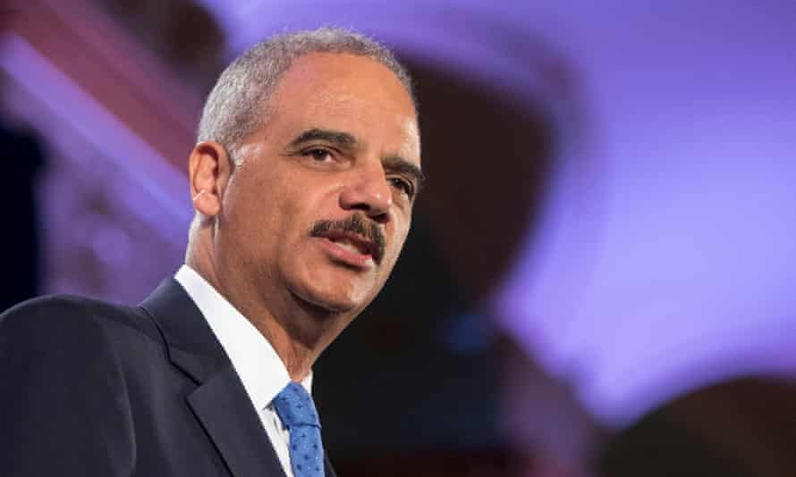Eric Holder: 'This administration has revealed their lack of judgment [that] will take this nation back to a discredited past.'