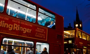 Bus tickets are given to homeless young people when every other avenue has been exhausted, say charities.