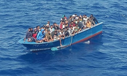 The Bangladeshi migrants were part of a 75-strong group stuck onboard a tugboat for weeks before being taken to Tunisia.