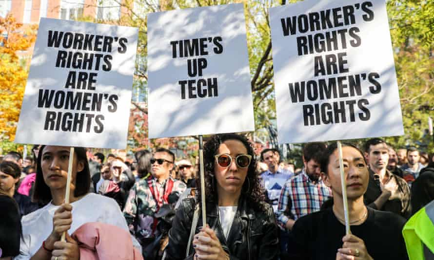 'Google employees, like their counterparts at a ballooning number of American companies, were subject to forced arbitration.'