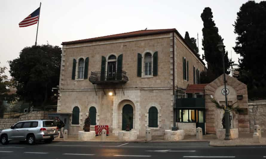 The US consulate in Jerusalem has been closed since 2019