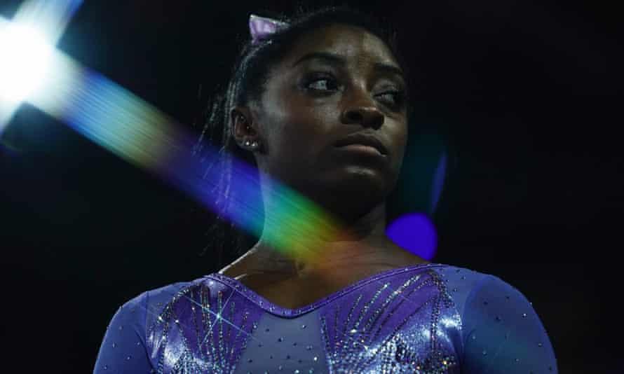 Simone Biles is preparing for the Tokyo Olympics